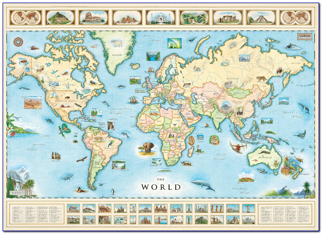 Game Of Thrones Map Of The Known World Jigsaw Puzzle