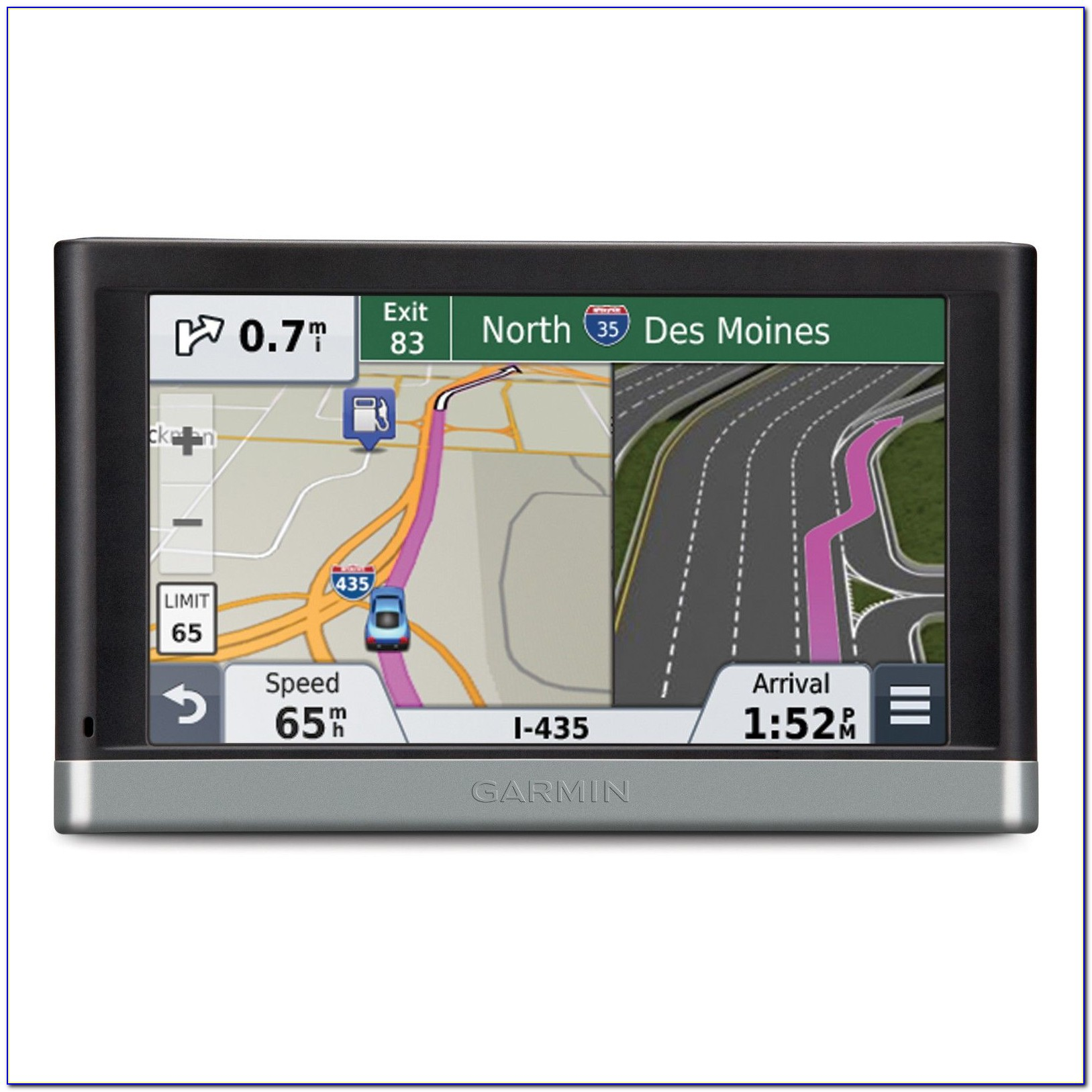 Garmin 5 Inch Gps With Lifetime Maps And Traffic