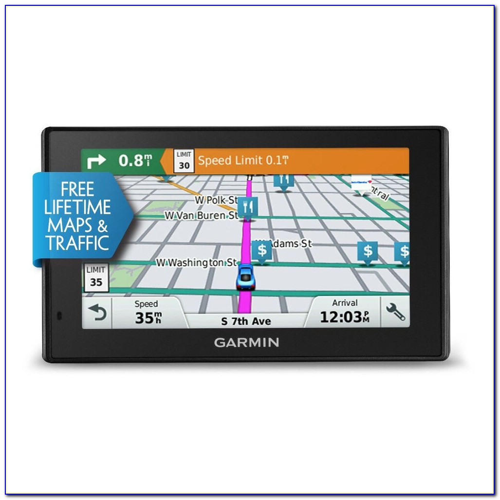 Garmin 5 Inch Gps With Voice Command Lifetime Maps And Traffic
