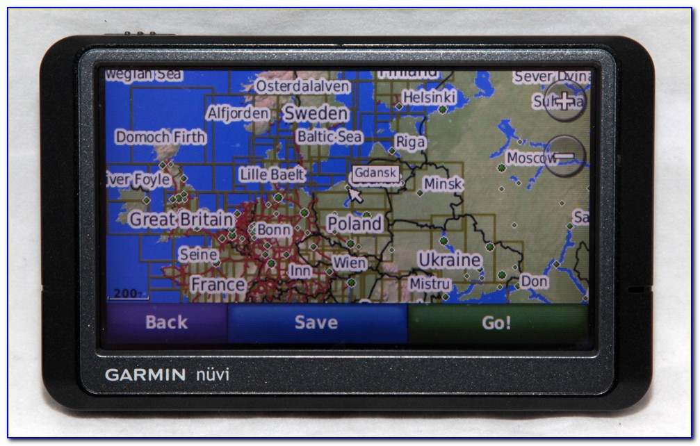 Garmin Gps With North America And Europe Maps