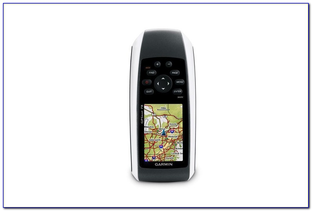 Garmin Gpsmap 78s Software