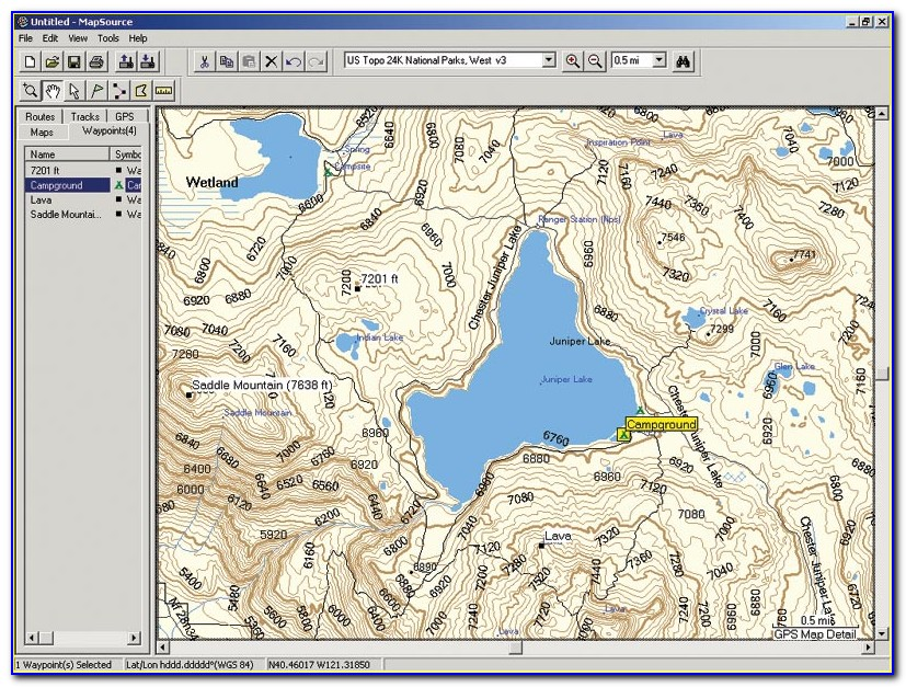 Garmin Nuvi Topographic Maps