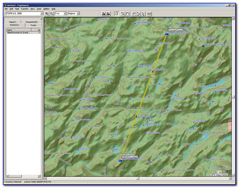 Garmin Topographic Maps South Africa