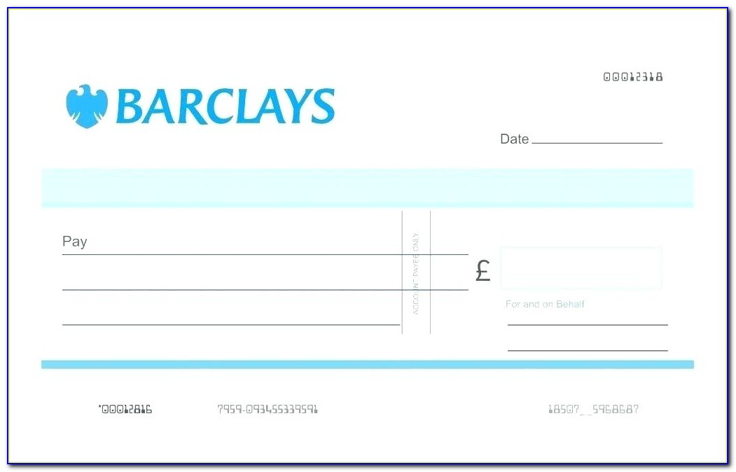 Giant Check Template Microsoft Word