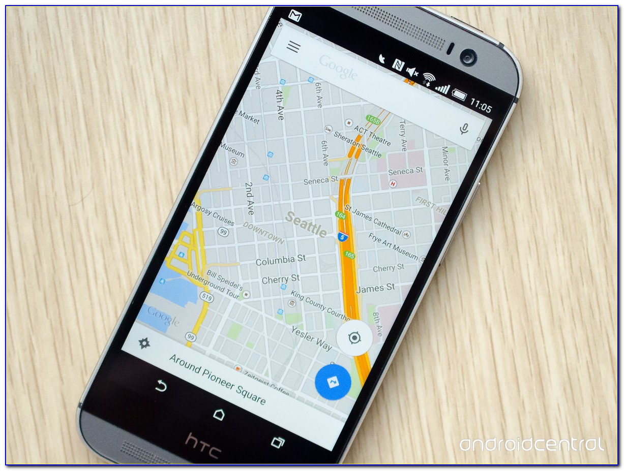 Google Map Tracker Cell Phone