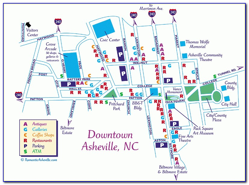 Google Maps Asheville Nc Hotels