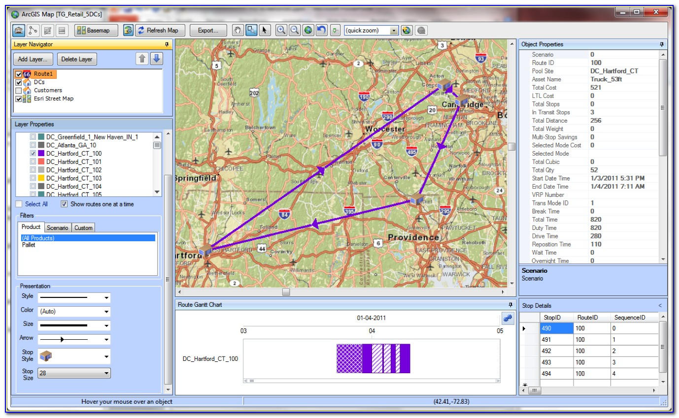 Google Maps Routing Software