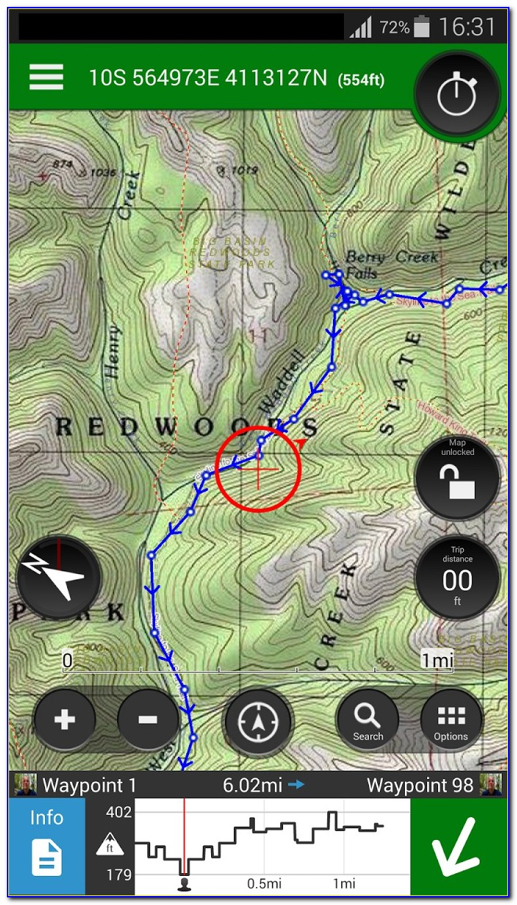 Gps Hiking Trail Maps