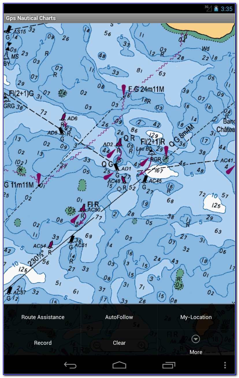 Gps Nautical Maps