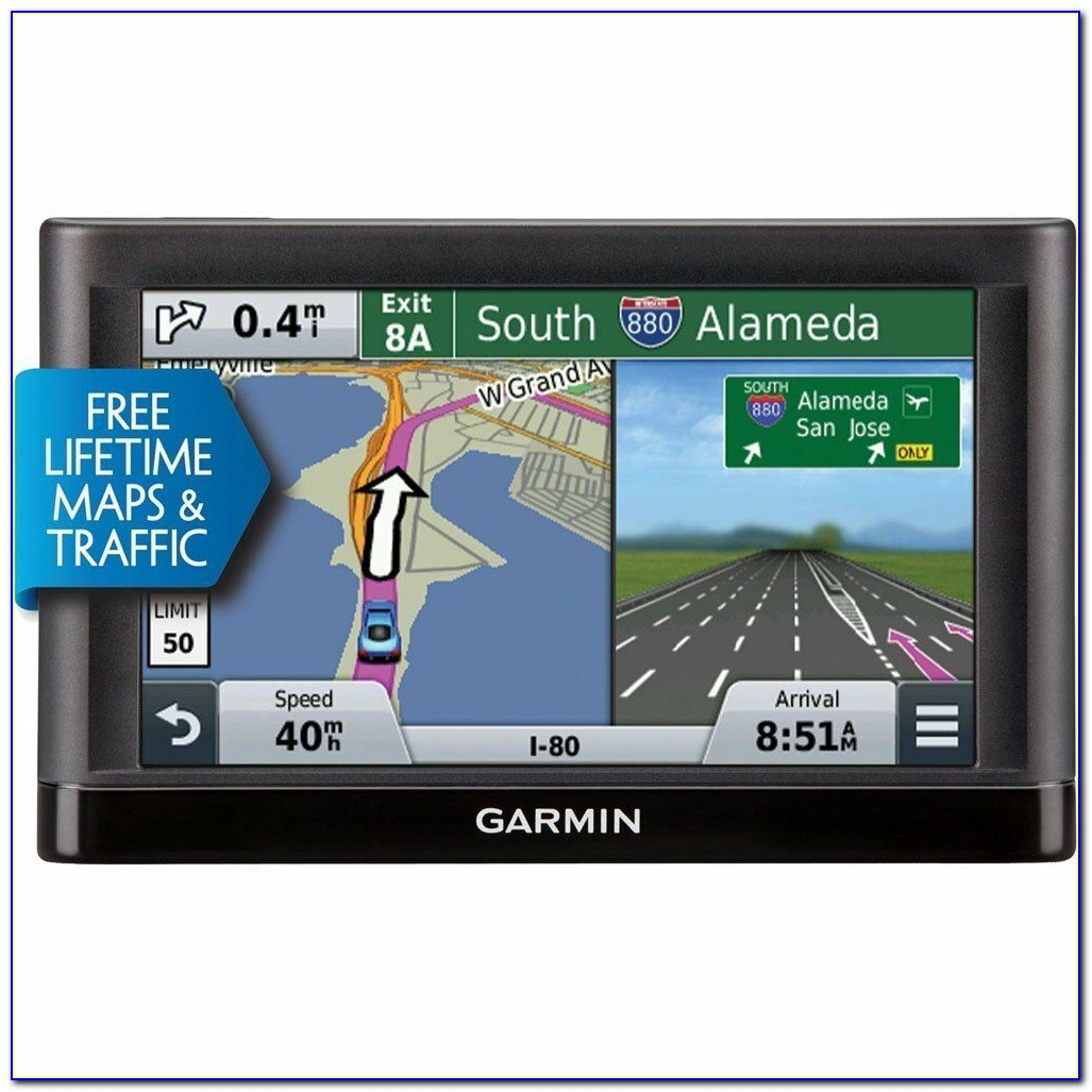 Gps With Lifetime Maps And Traffic