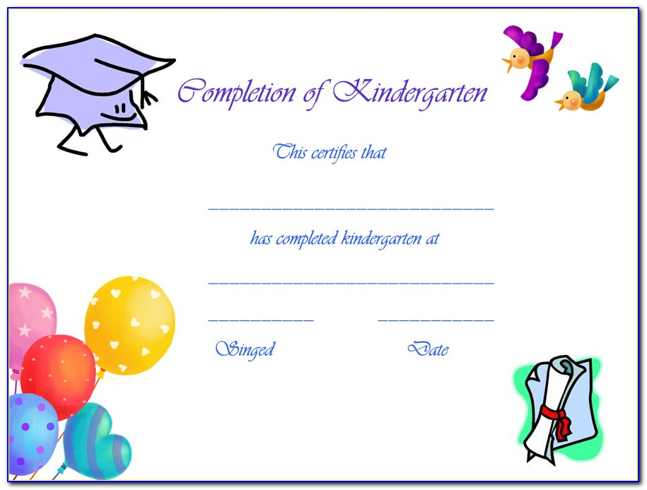 Graduation Certificate Templates Free Download
