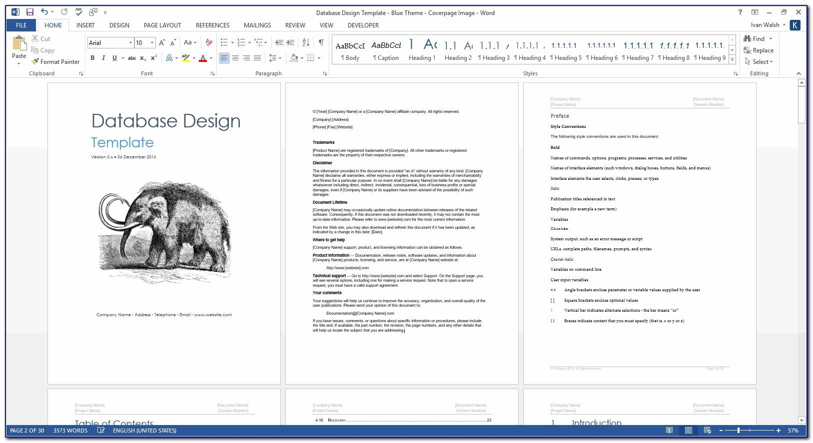 Graphic Design Template Software