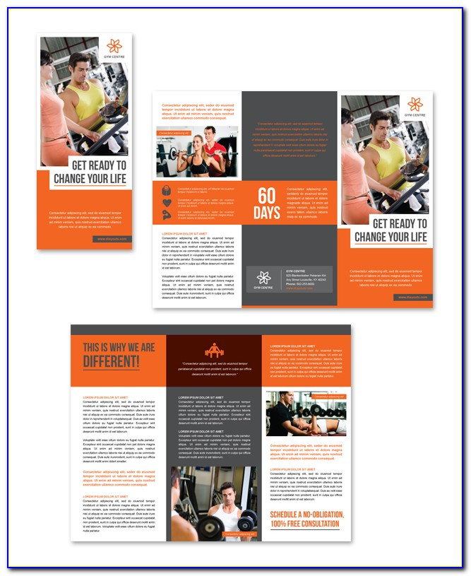 Gym Flyer Template Psd Free