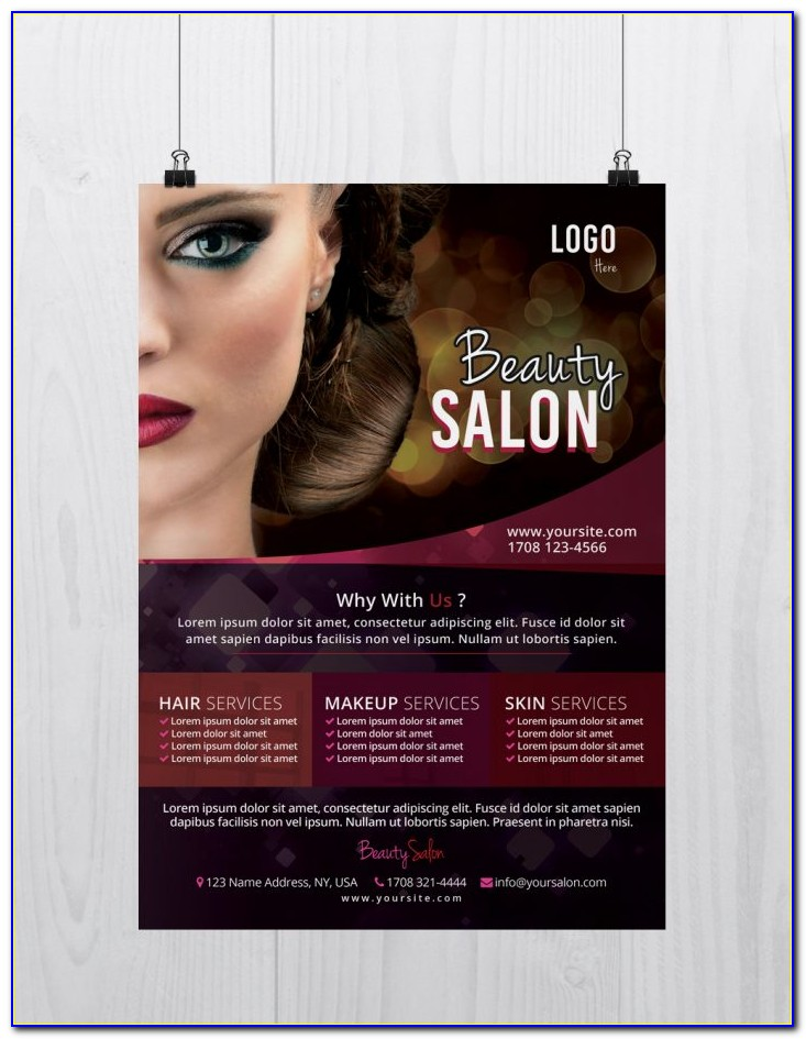 Hair Salon Flyer Samples