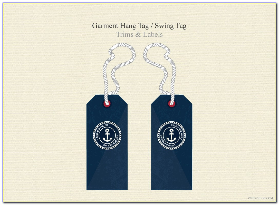 Hang Tag Template Publisher