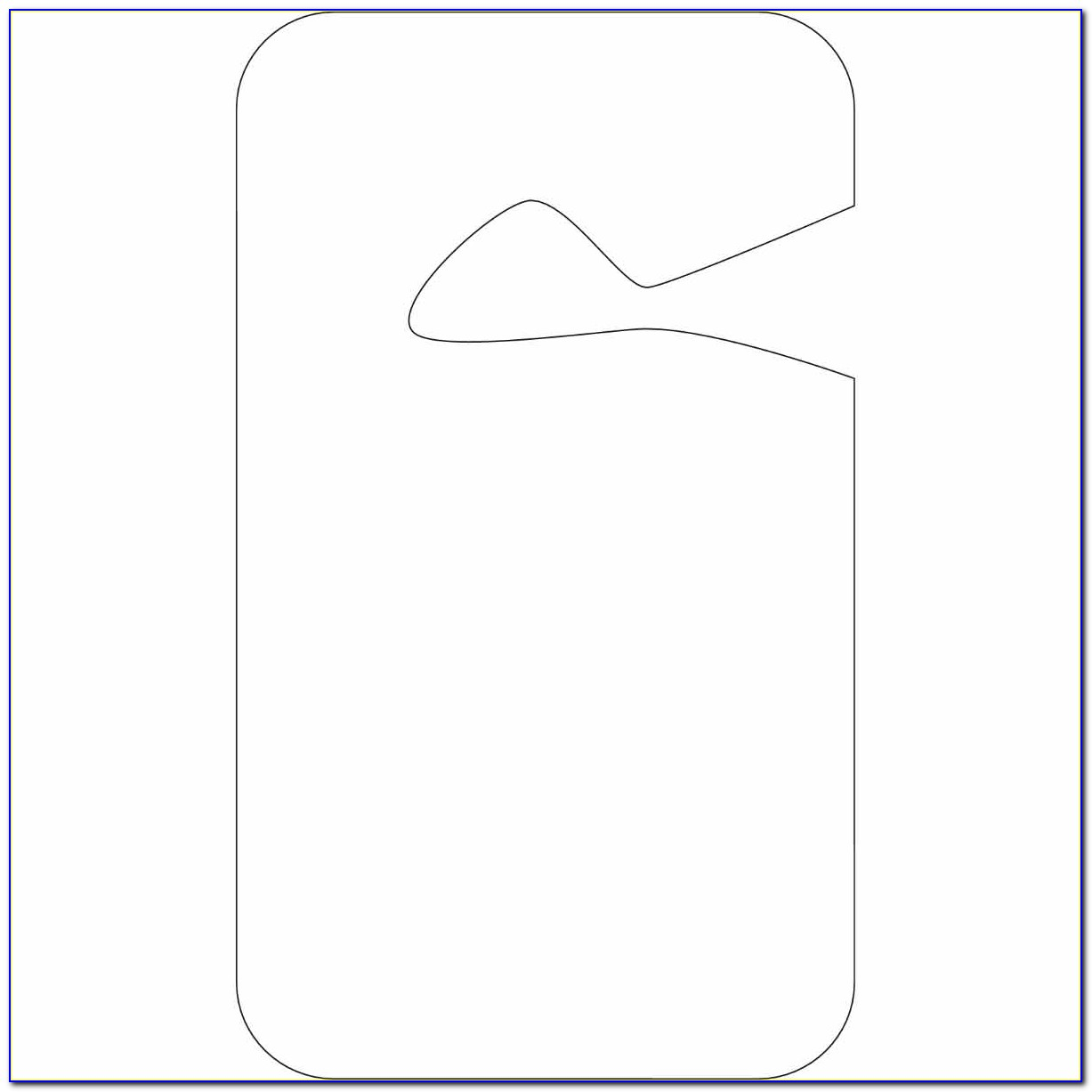 Hanging Parking Permit Template Free