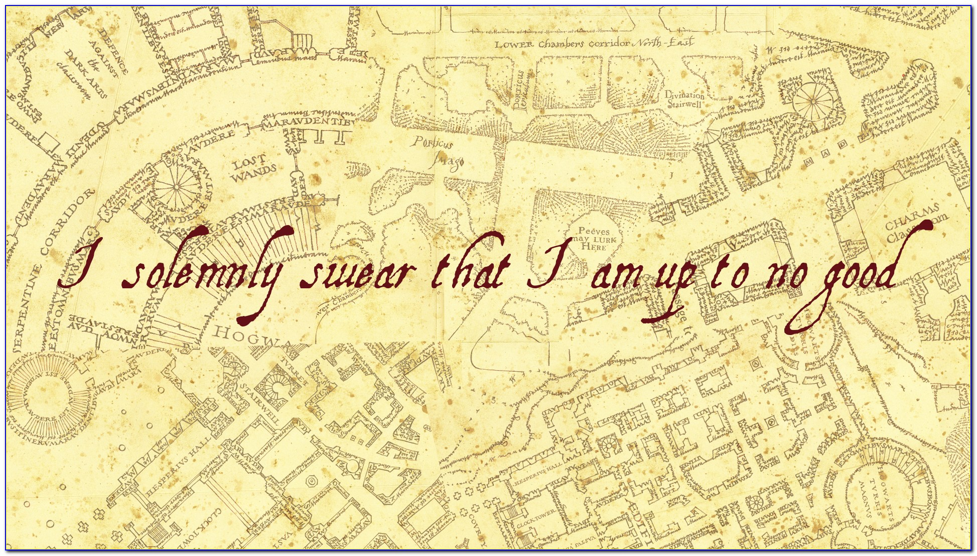 Harry Potter Marauders Map Online