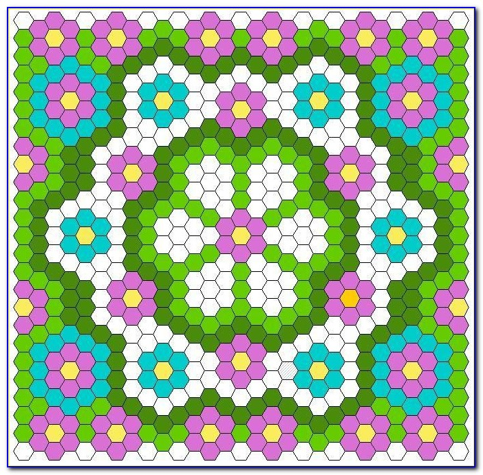 Hexagon Quilting Paper Templates