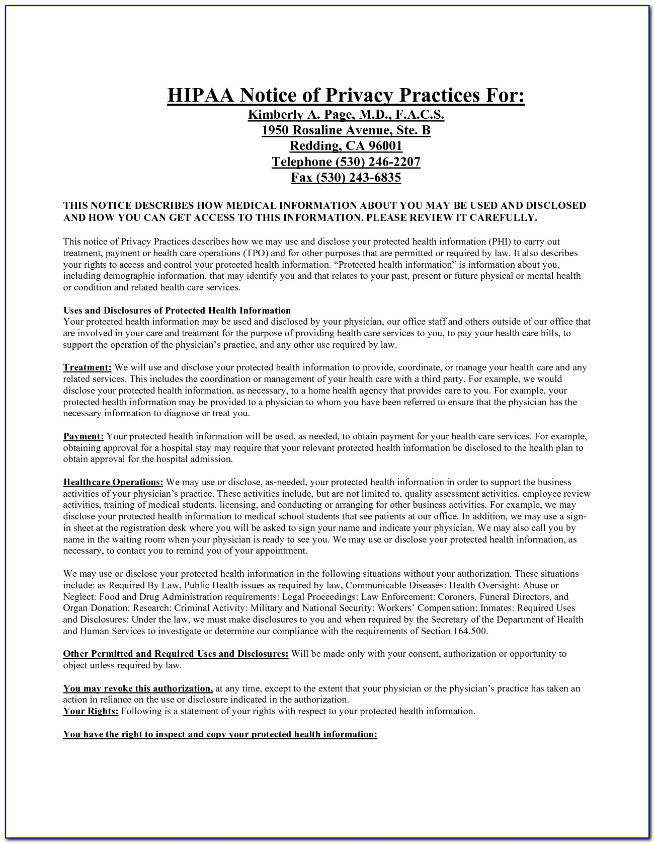 Hipaa Privacy Rule Employee Confidentiality Form