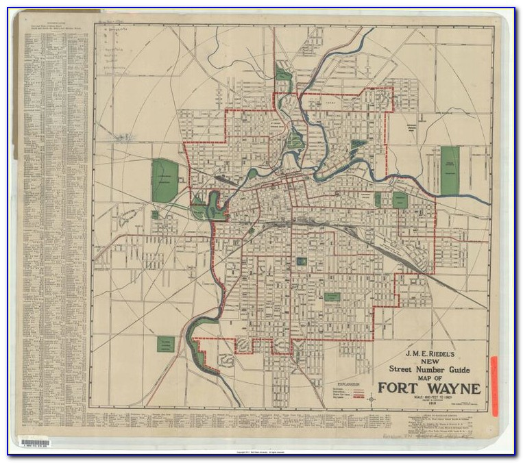 Historic Indiana Maps