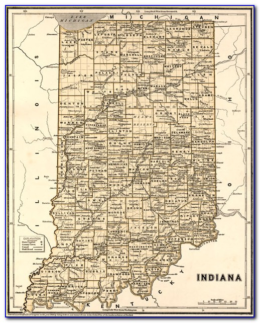 Historic Indiana Plat Maps