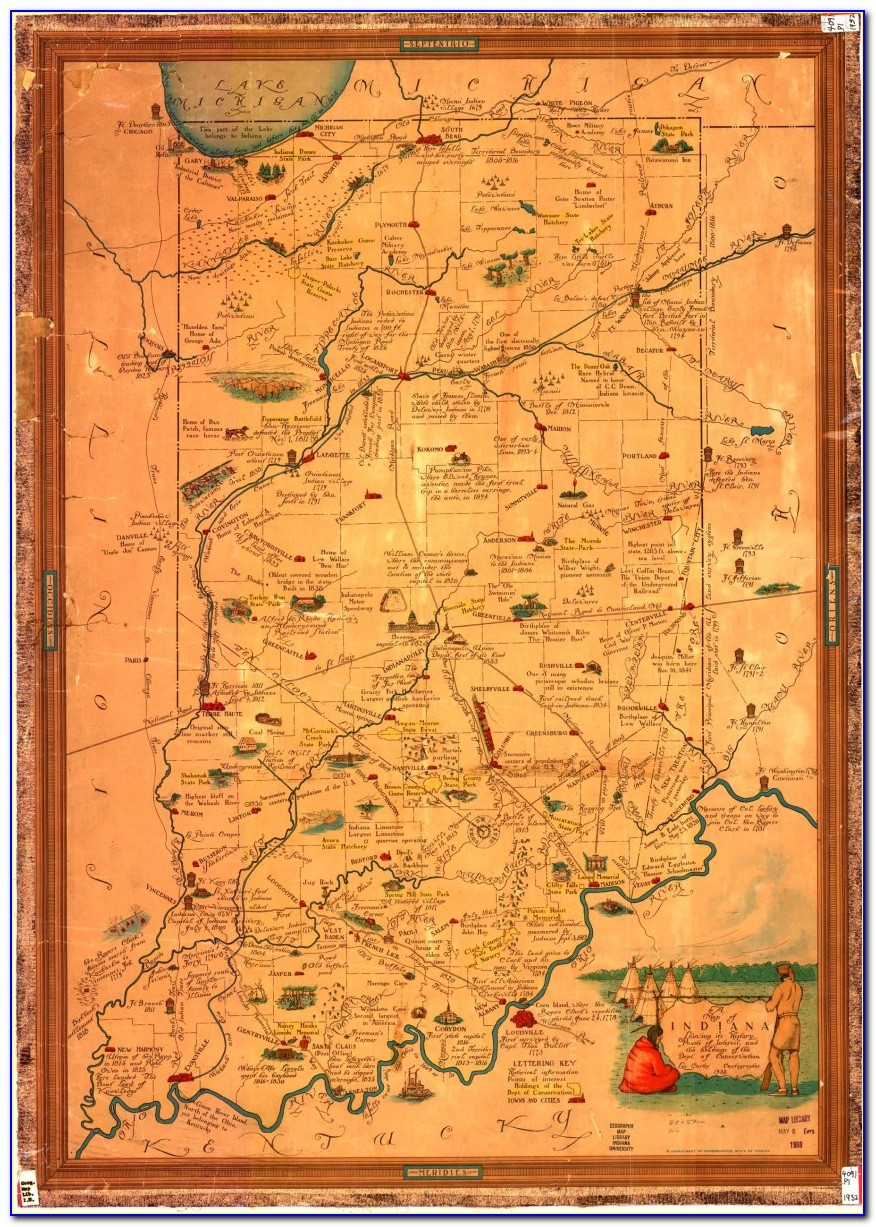 Historic Topographic Maps Indiana