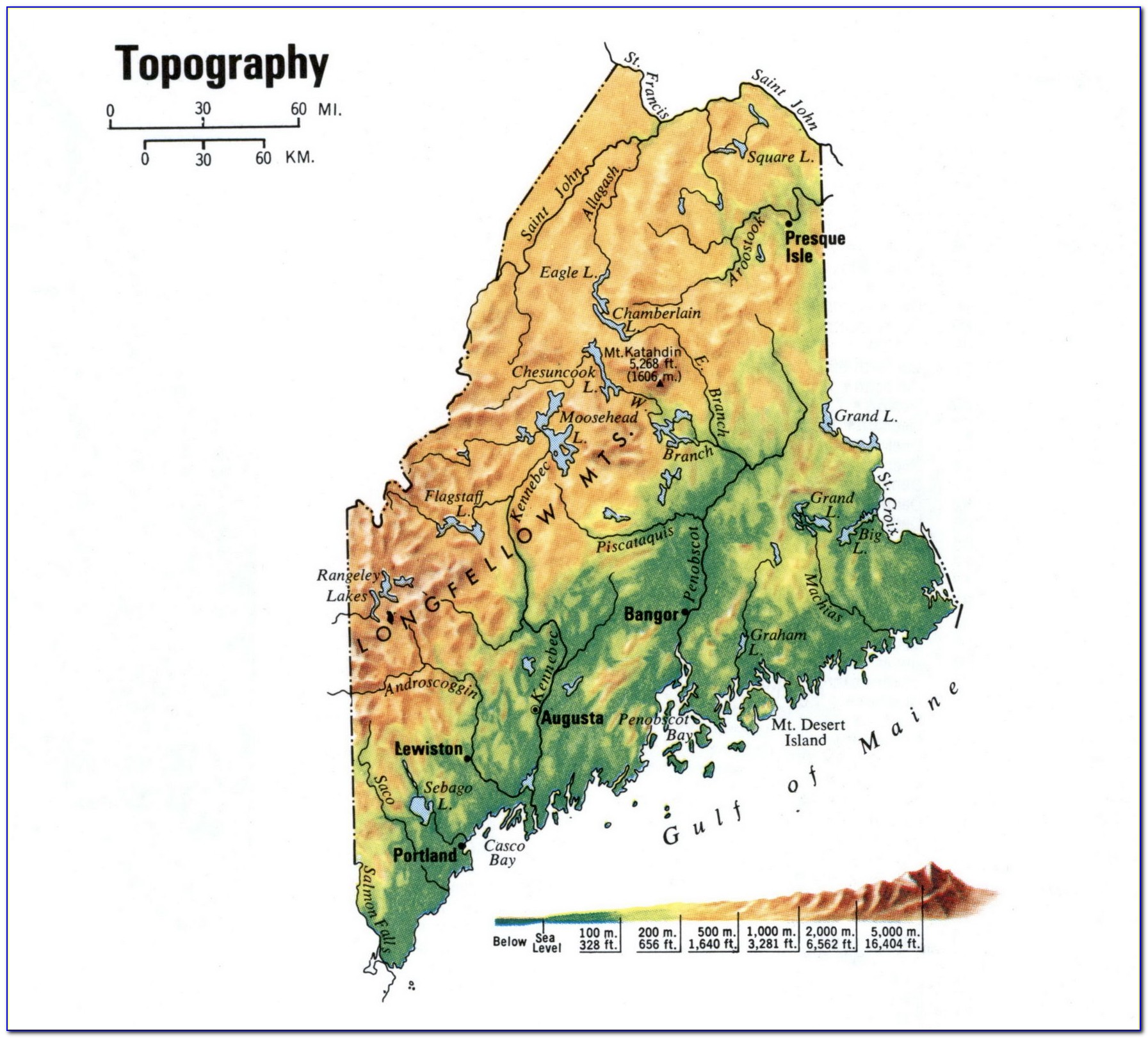 Historic Topographic Maps Maine