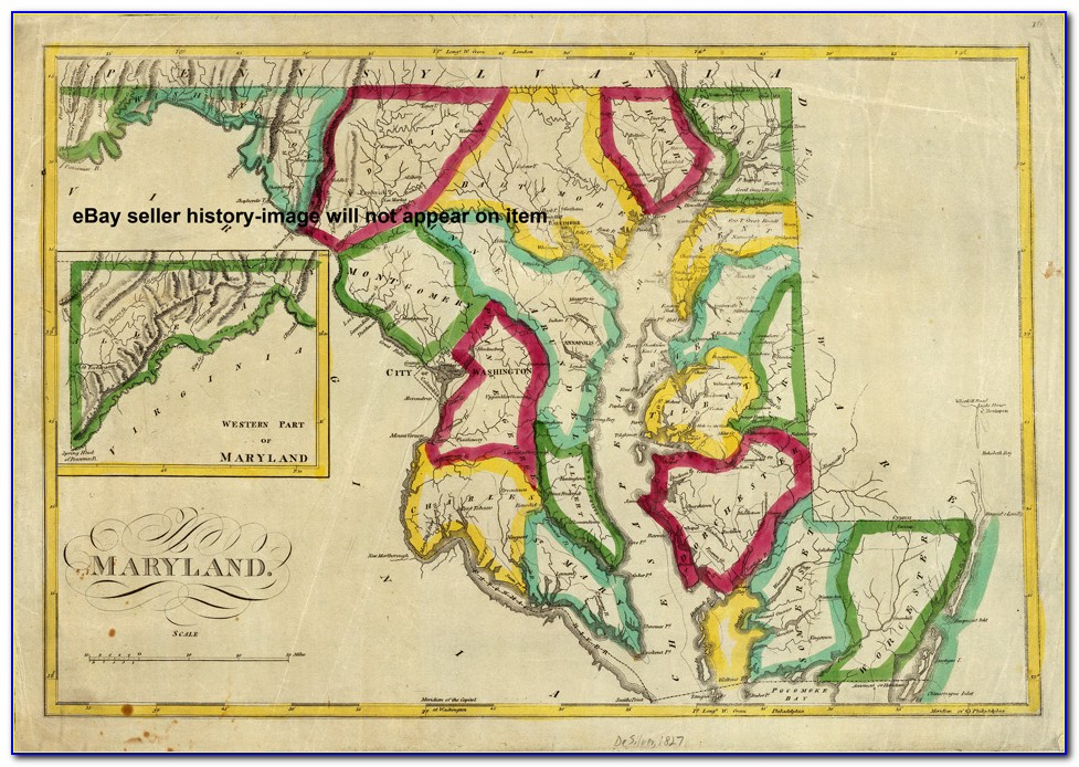 Historical Maps Of Cecil County Maryland