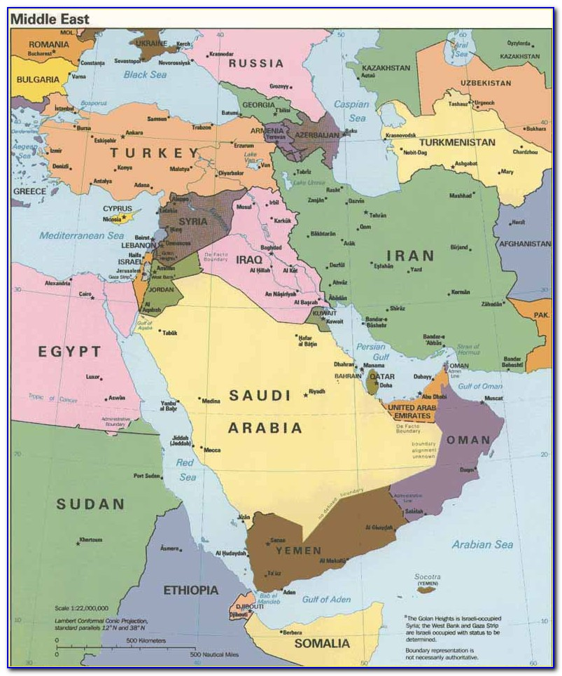 Historical Maps Of The Middle East Atlas