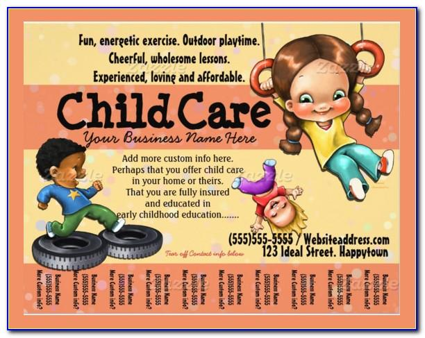 Home Daycare Flyer Templates