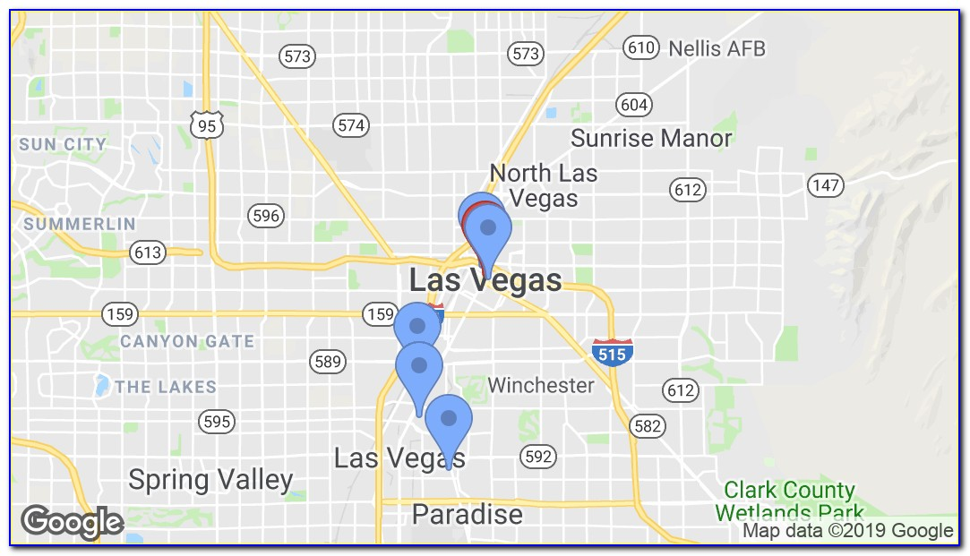 Hop On Hop Off Bus Las Vegas Map