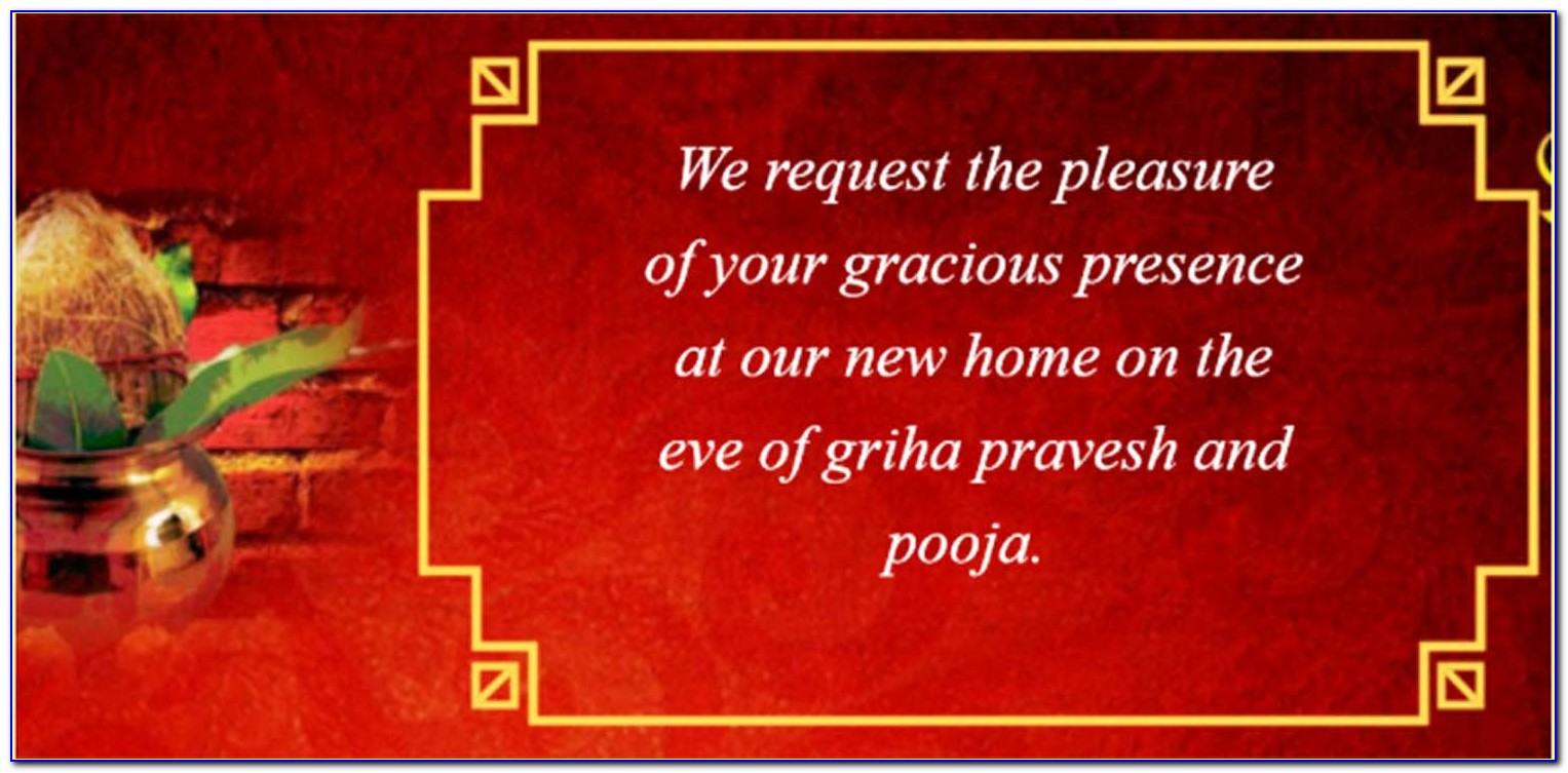 House Warming Invitation Template In Tamil