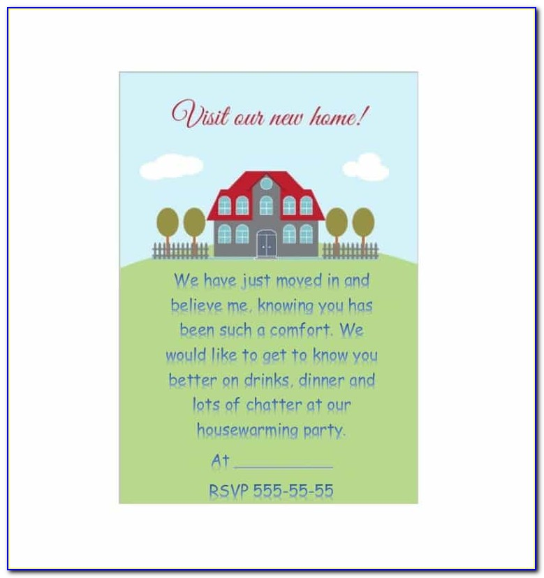 Housewarming Invitation Templates In Telugu
