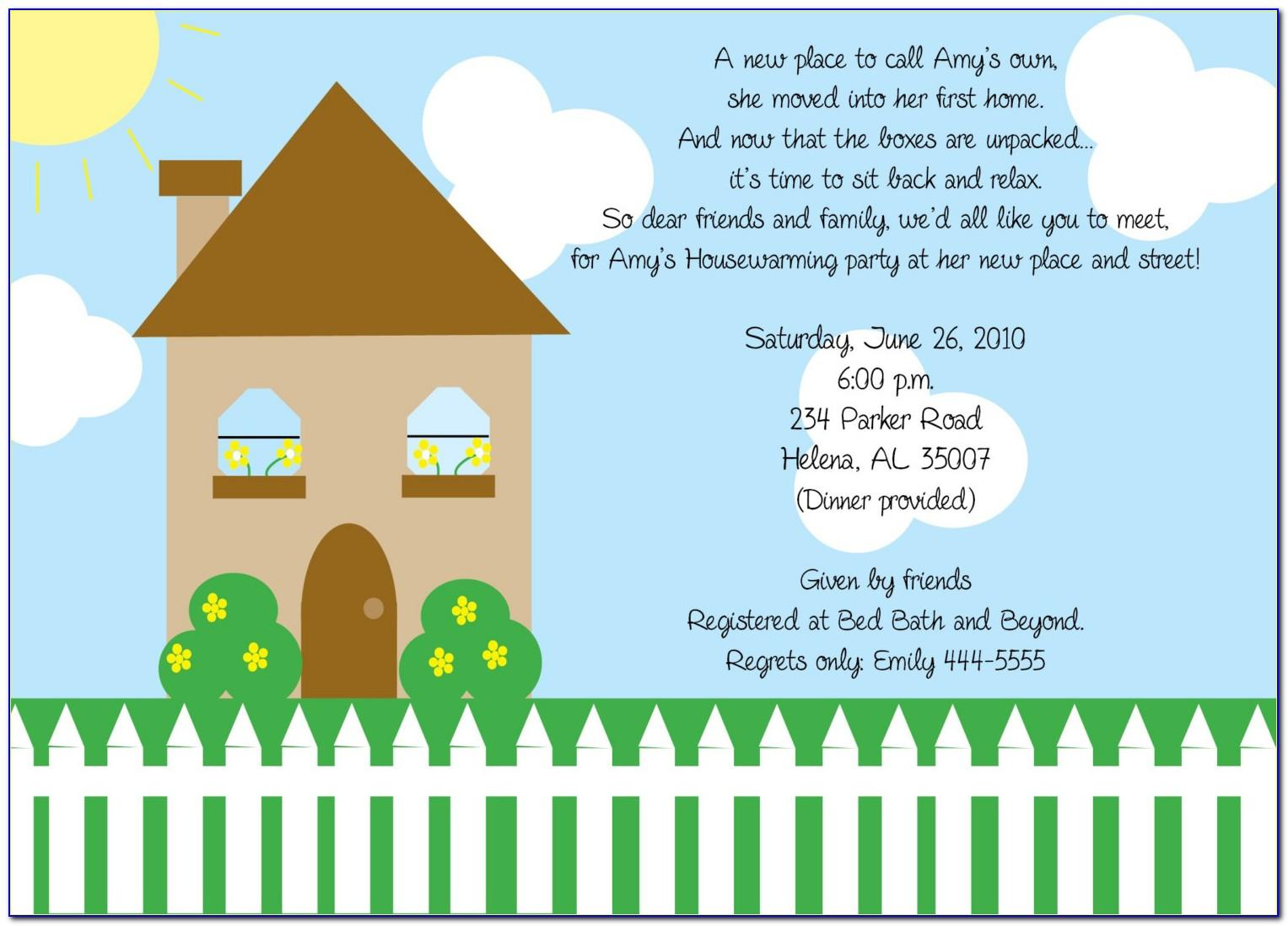 Housewarming Invite Template Indian
