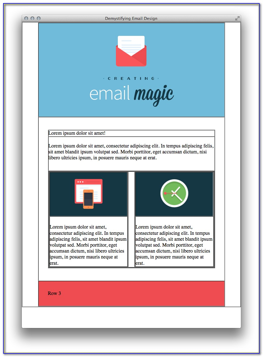 How To Build Html Email Template