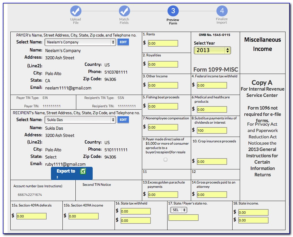 How To File 2017 Form 1099 Misc