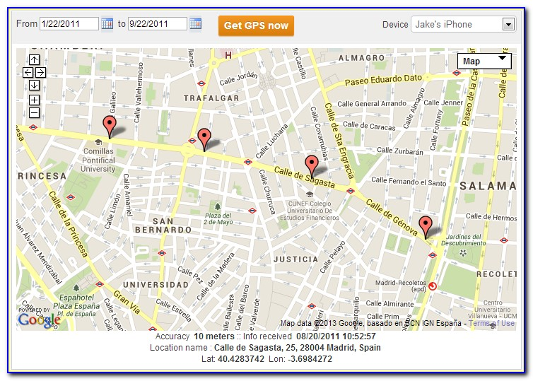 How To Track A Mobile Phone Using Google Maps