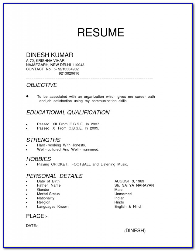 How To Type A Resume Objective Resume Resume Types Functional Suhjg