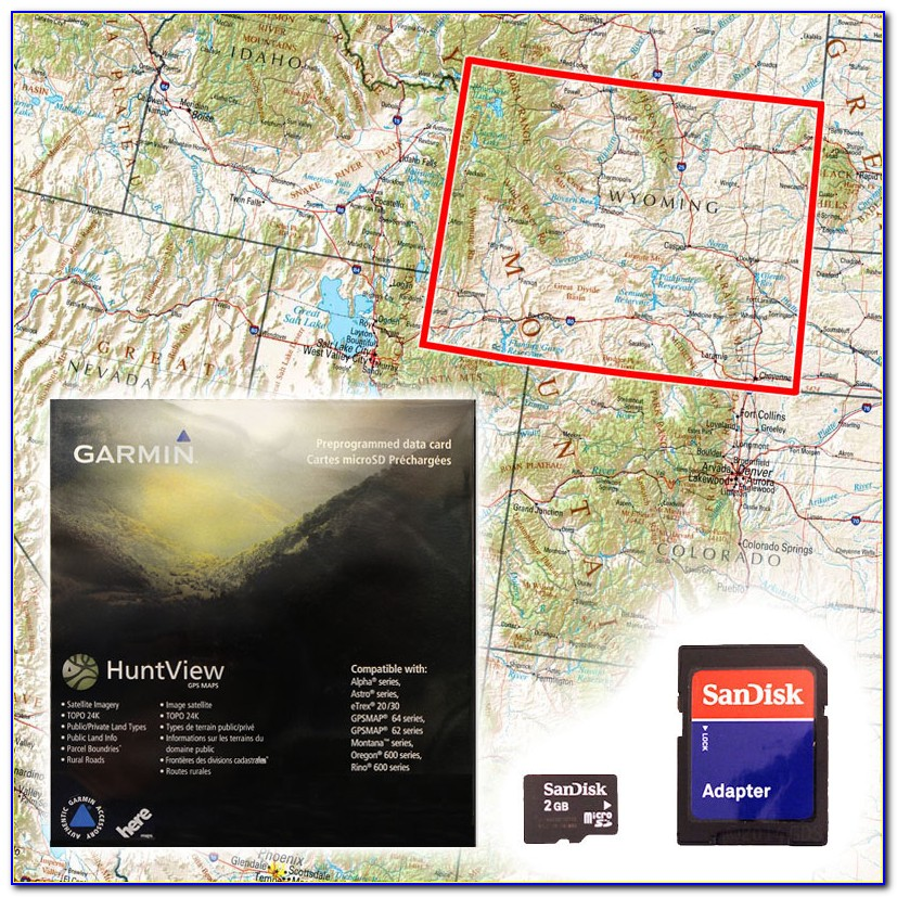 Hunting Maps For Garmin Inreach