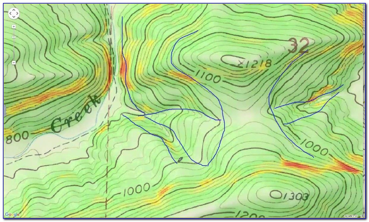 Hunting Topographic Maps