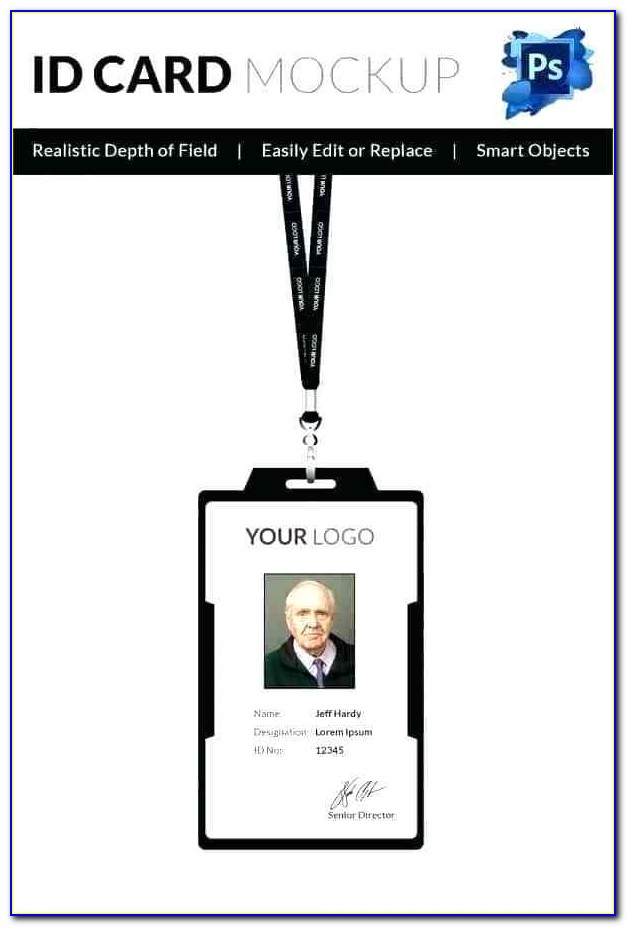 Id Badge Template Excel