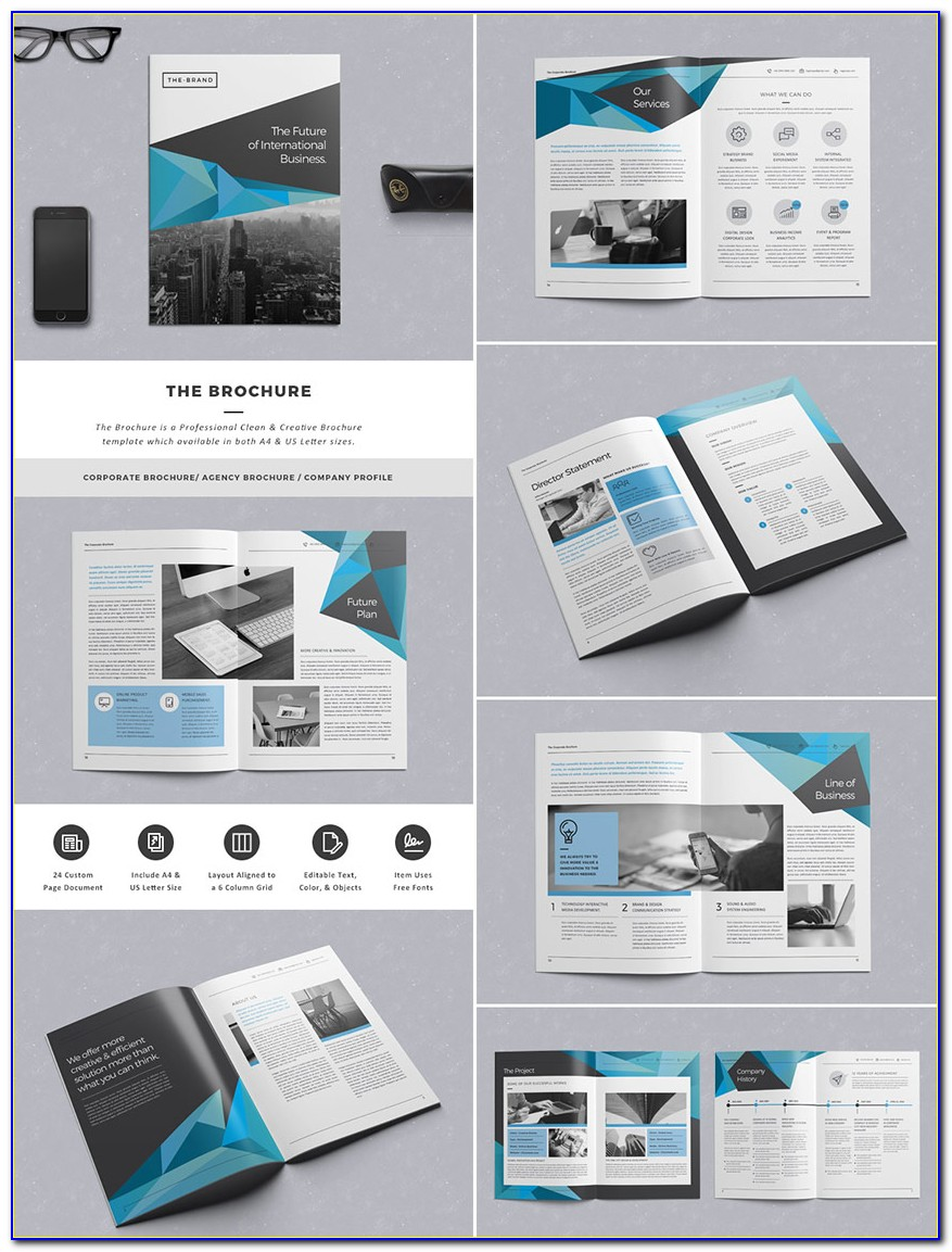 Indesign Brochure Templates A4