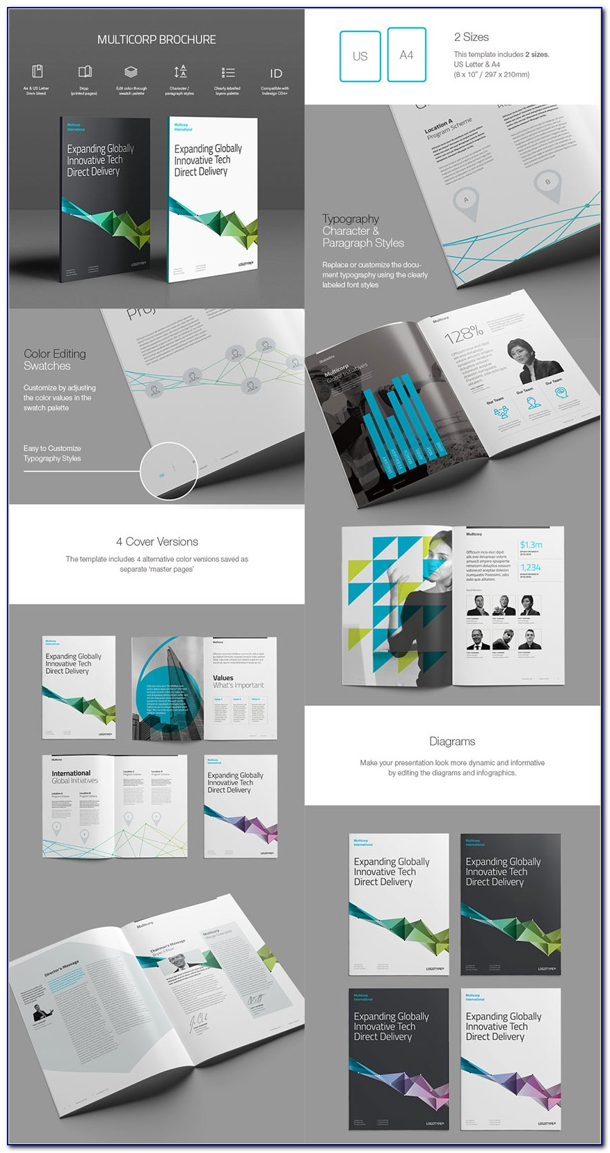 Indesign Brochure Templates Download