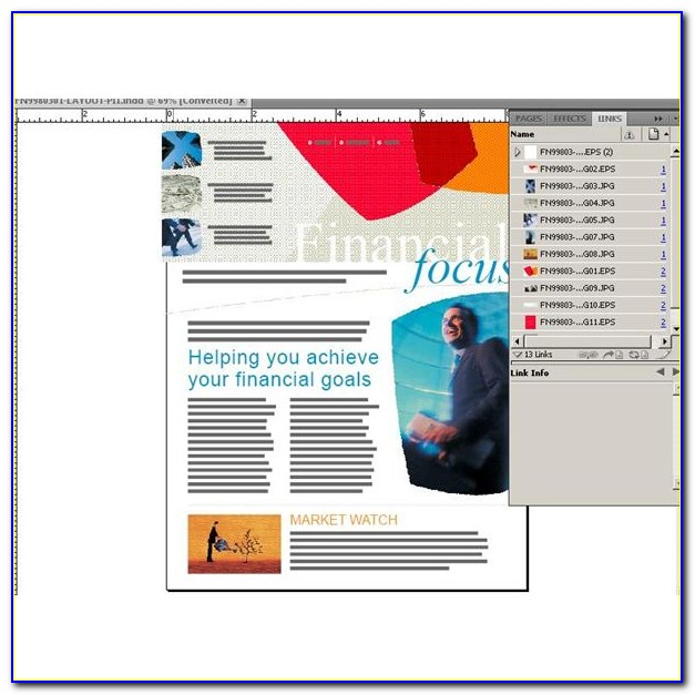 Indesign Email Newsletter Templates