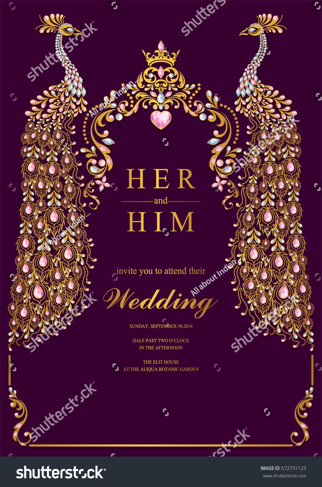 Indian Wedding Invitation Templates For Friends  vincegray3