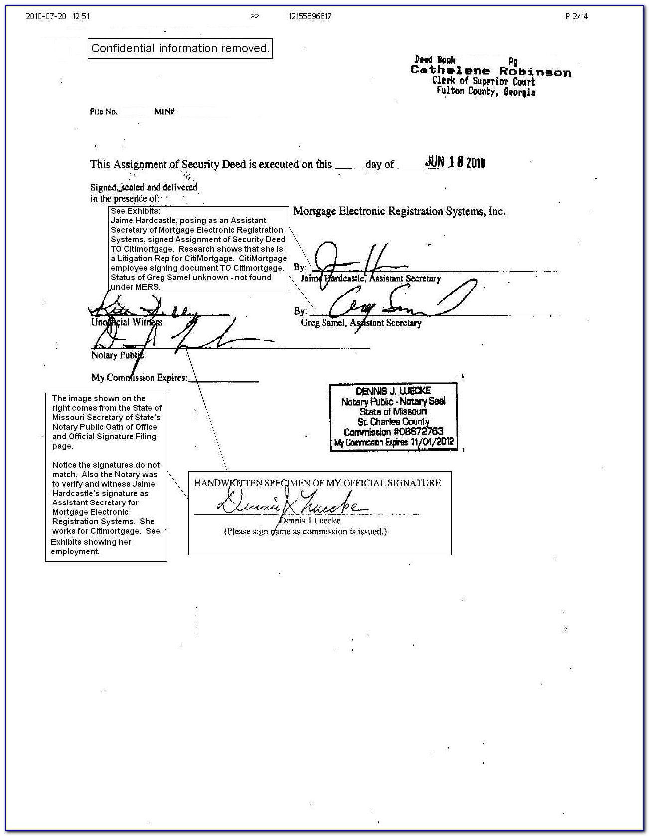 Indiana Notary Consent Form
