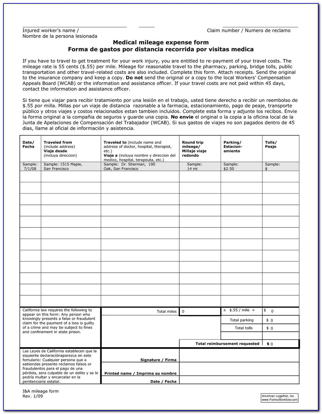 Indiana Workers Compensation Exemption Form