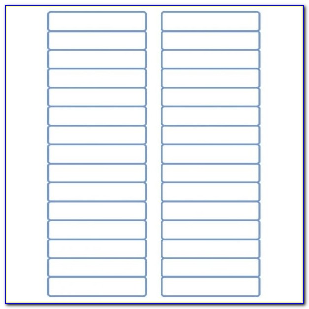 "File Folder Labels Laser Labels Inkjet Labels 2/3"" X 3 7/16 Regarding Avery 5266 Label Template"