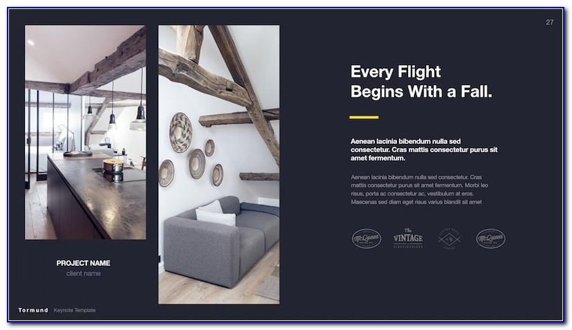 Interior Design Portfolio Ppt Templates Free Download Thormund With Architecture Portfolio Powerpoint Template