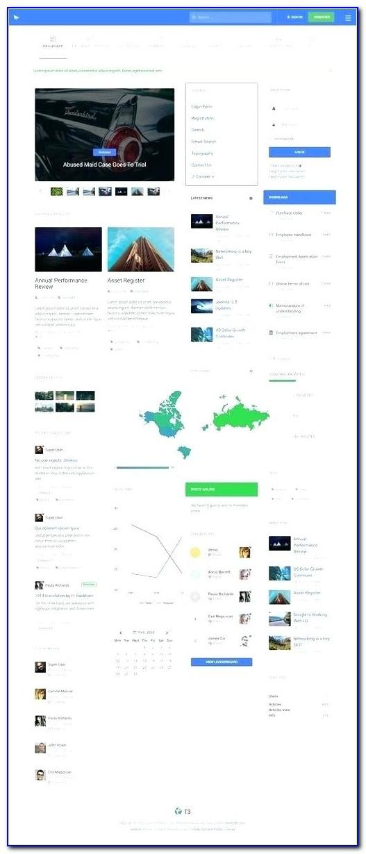 Intranet Site Templates Download Free